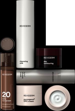 Pflegende Produkte von REVIDERM
